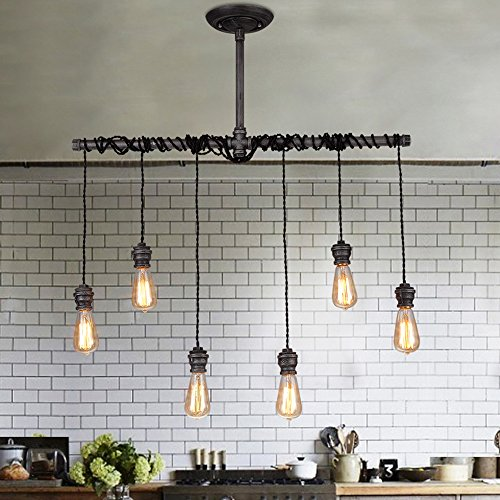 6 Light Ceiling Pendant in US - 2