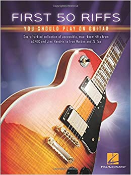 First 50 Riffs You Should Play on Guitar: Amazon.es: Hal Leonard ...