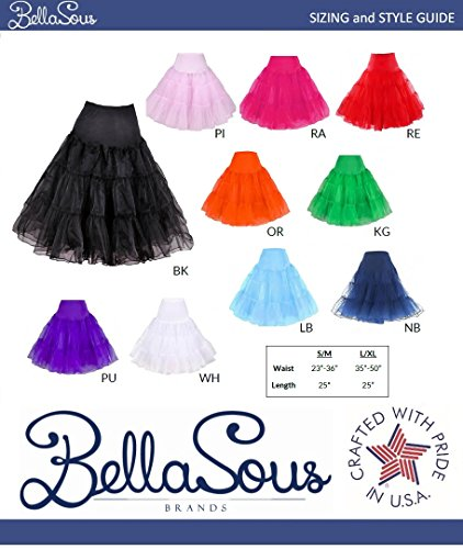 Review BellaSous Petticoat Crinoline. Great