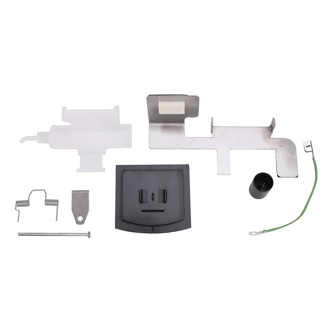 8201756 Refrigerator Ice Dispenser Door Kit for Whirlpool, Maytag, Kenmore, Crosley. Ice Door Kit Replace 8201756, 8201756VP, W10823377, WP2180353 by Grete Gotye