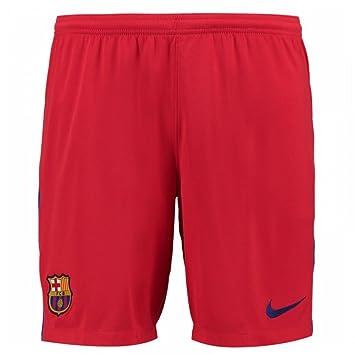 2017-2018 Barcelona Away Nike Goalkeeper Shorts (Red)  Amazon.co.uk ... f800c5580d7