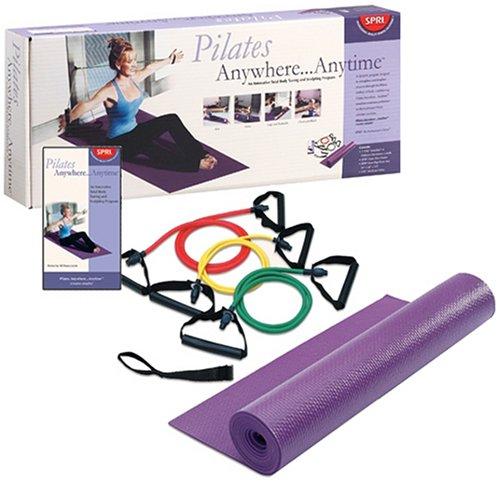 SPRI Pilates Anywhere Anytime Portable Kit