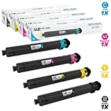 LD Compatible Toner Cartridge Replacement for Ricoh Aficio MP C2003 & MP C2503 (Black, Cyan, Magenta, Yellow, 4-Pack)