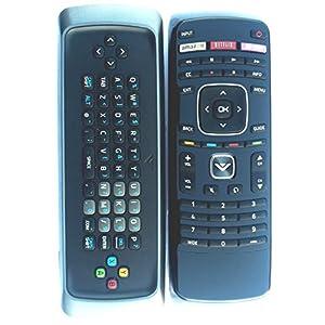 VIZIO New! Original XRT300 Qwerty keyboard remote for M420SV M470SV M550SV M420SL M470SL M550SL M420SV M470SV M550SV M370SR M420SR M420KD E551VA internet TV----30 days Warranty!!