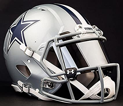 72f48e2e Amazon.com : Riddell Speed Dallas Cowboys NFL Authentic Football ...
