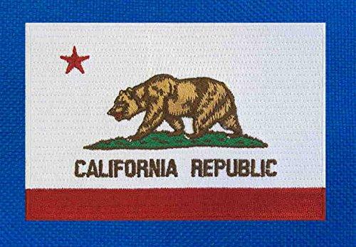 California Gym Bag California Flag Duffel Bag w//SHOE POCKETS