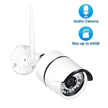 Youpin 720P 960P 1080P cámara de Seguridad Exterior, Ranura ...
