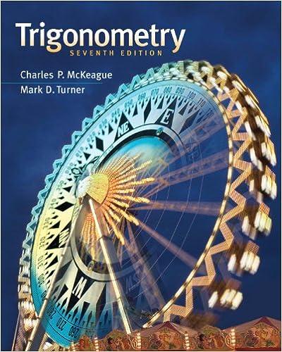 Trigonometry 007, Charles P  McKeague, Mark D  Turner - Amazon com