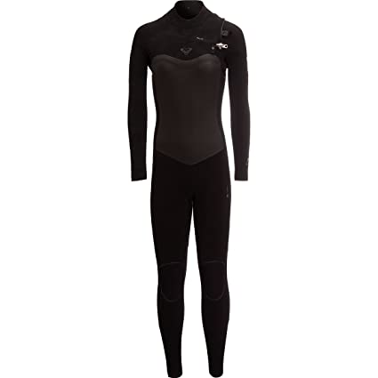 Roxy 4 3 Performance Chest-Zip Hydrolock Wetsuit - Women s Black ... dd3cbb268