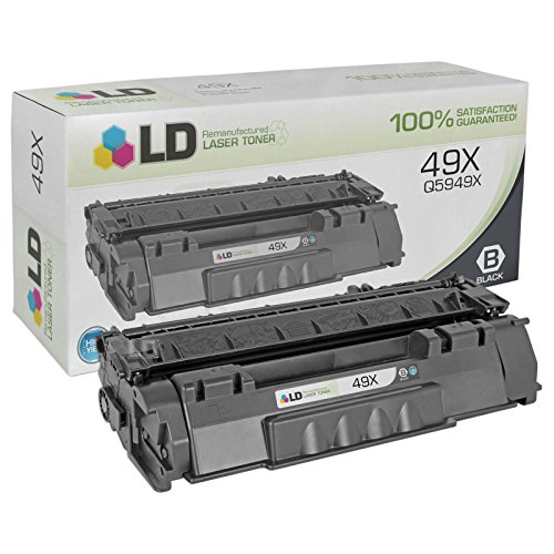6r960 Compatible Remanufactured Toner (LD Compatible Replacement for HP Q5949X (49X) High Yield Black Laser Toner Cartridge for use in LaserJet 1320, 1320N, 1320NW, 1320T, 1320TN, 3390 & 3392)
