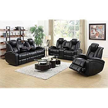 Coaster Home Furnishings Delange Modern Power Motion Three Seater Sofa with Power Headrest Storage Arms Drop  sc 1 st  Amazon.com & Amazon.com: Coaster Home Furnishings Delange Modern Power Motion ... islam-shia.org