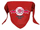 Cincinnati Reds Pet Dog Baseball Jersey Bandana M/L
