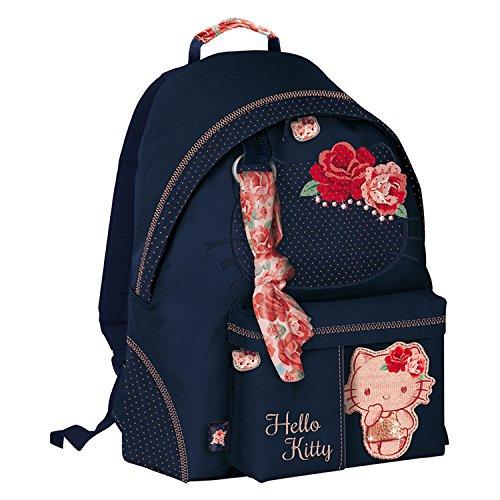 b7c45e9d87 Giochi Preziosi Hello Kitty Passion Roses Zaino Tempo Libero per Bambini  con Swarovski, 41 cm
