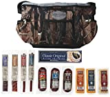 "Hunters Reserve ""Wild Game"" Camo Cooler Bag with Assorted Premium Meats & Cheeses, 50 Ounce"
