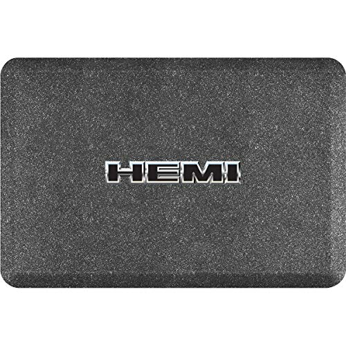 24 Inch Marble Mosaic - Smart Step Licensed Collection Hemi Logo, 36
