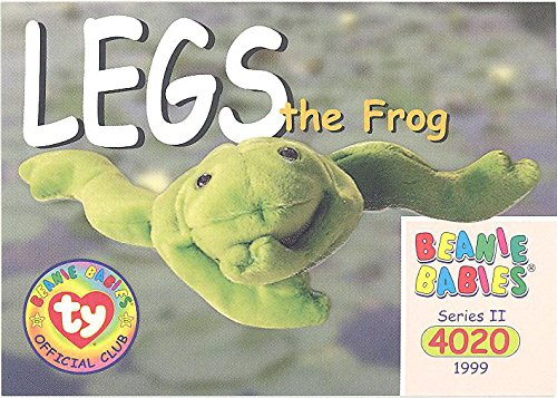 TY Beanie Babies BBOC Card - Series 2 Common - LEGS the Frog