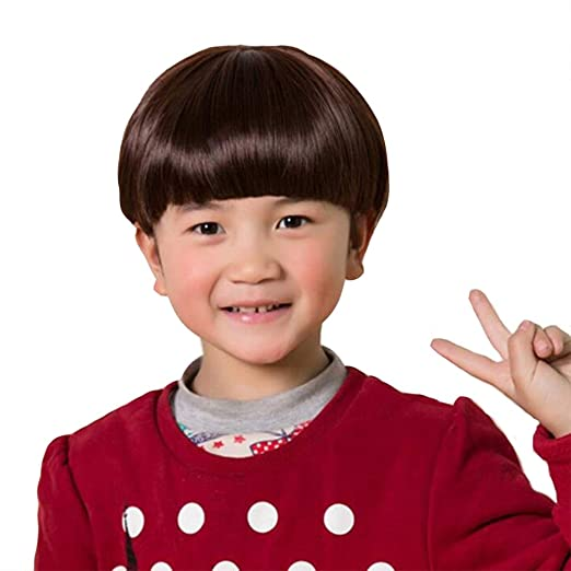 3800e988e YYTA Short/Long Curly Wave Cosplay Wig Hair Adjustable Costume Synthetic  Heat Resistant for 5-10 Years Children Girl