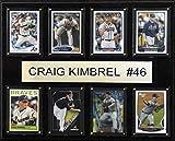 MLB Atlanta Braves Craig Kimbrel 8-Card Plaque, 12 x 15-Inch