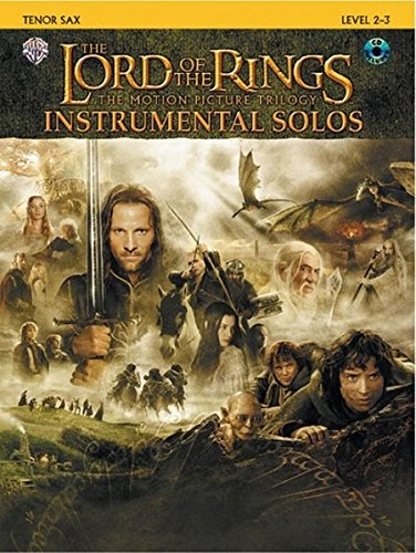 The Lord of the Rings Instrumental Solos: Tenor Sax, Book & CD (Alfred Tenor Music Sheet)