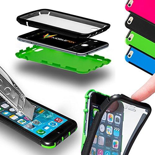 Mobilefox Full Touch Case Schutzhülle 360° Full Cover LG G3 Pink