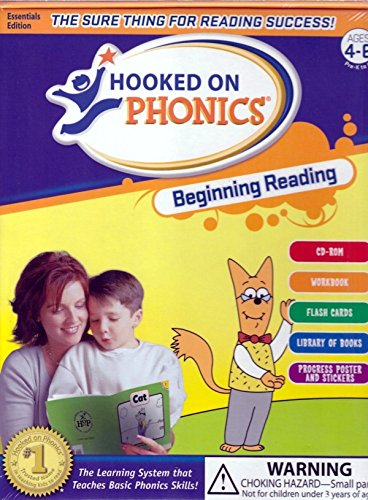 Hooked on Phonics Beginning Reading Ages 4-6 by Hooked on Phonics