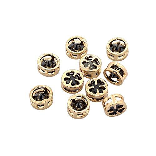 Hematite Pattern Earrings - 8