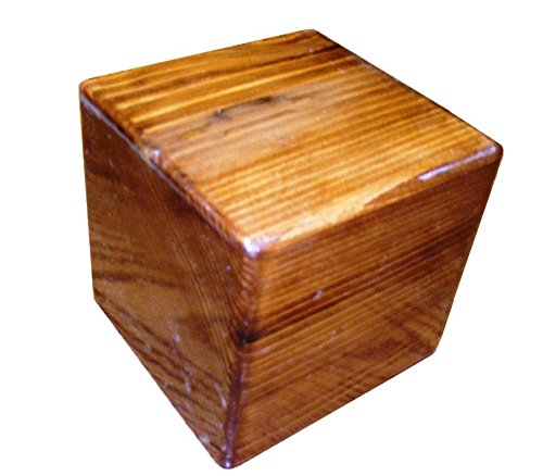 congreve-cube-55-inch-5-1-2-big-wood-block-wood-cube-stained-with-glossy-finish-one-piece