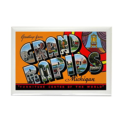 CafePress - Grand Rapids Michigan Greetings - Rectangle