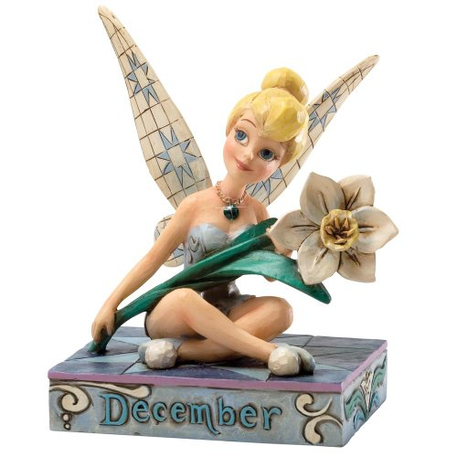 Enesco Disney Traditions Designed by Jim Shore December Tinker Bell Figurine 4 in