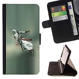Momo Phone Case / Flip Funda de Cuero Case Cover - Flying Assassin;;;;;;;; - Huawei Ascend P8 (Not for P8 Lite)