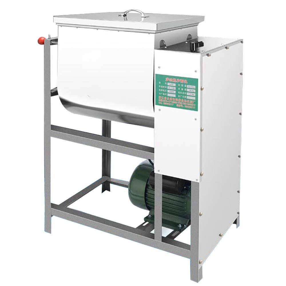 QWERTOUY 1pc Commercial Dough Mixer 5kg Flour Mixer Stirring Mixer The Pasta Machine Dough Kneading Capacity 5kg 2200w by QWERTOUY