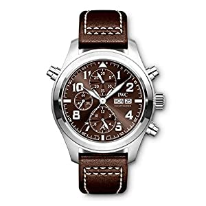 New IWC Pilot Steel Automatic ANTOINE DE SAINT EXUPÉRY Tobacco Watch IW371808