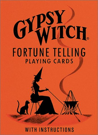 (Gypsy Witch Fortune Telling Playing Cards )