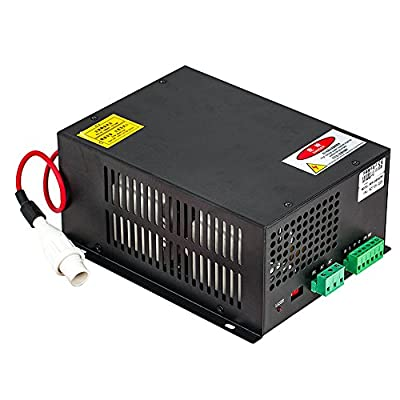 Cloudray 50-150W CO2 Laser Power Supply 110/220V Black Case