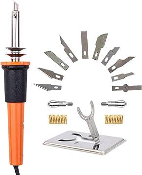 Amazon.com: Afantti - Cuchillo eléctrico profesional de ...