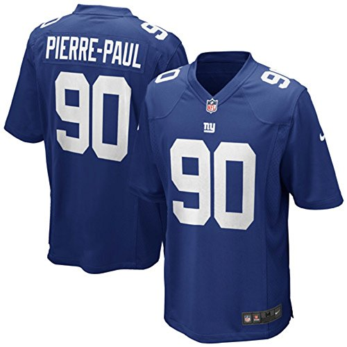 New York Giants Jersey - Nike Jason Pierre-Paul New York Giants NFL Youth Blue Home On-Field Jersey (Youth X-Large 18-20)