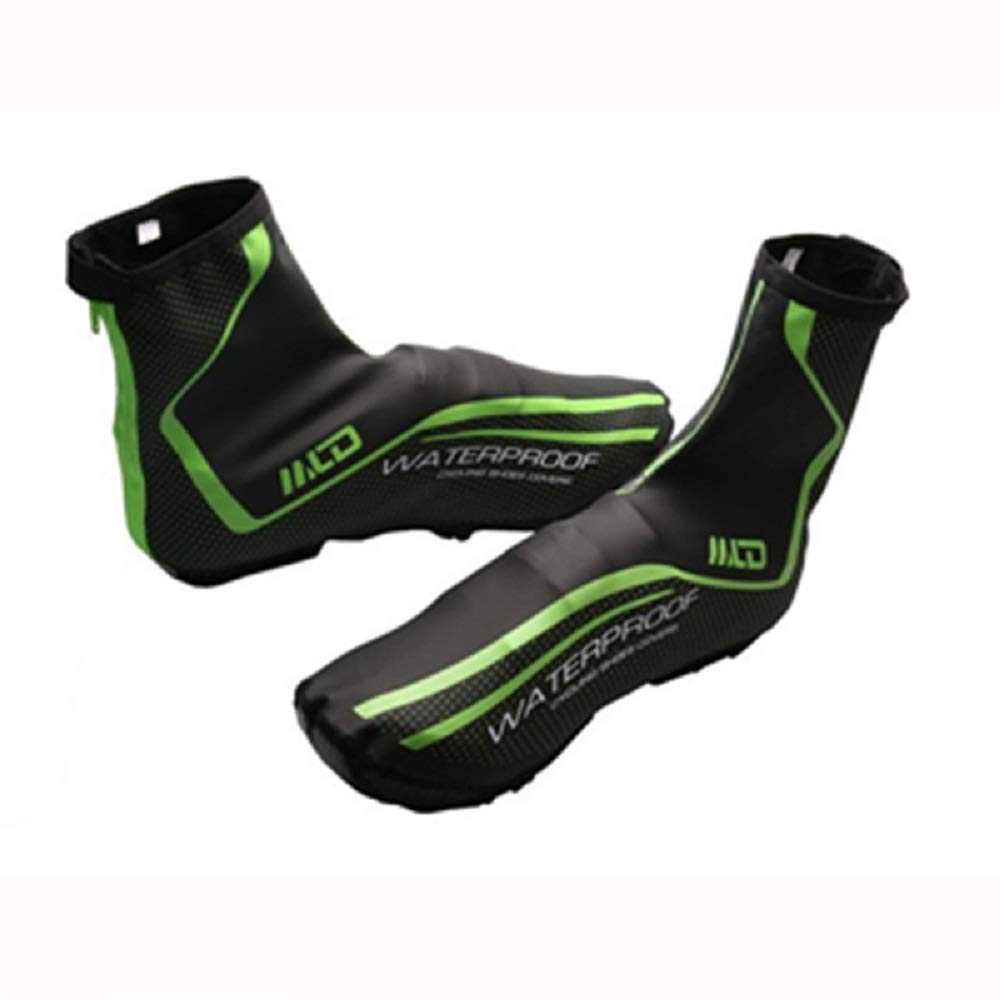 High Reflective Fleece Toe Covers Winter Bike Shoe Cover for Cycling Waterproof,Windproof Overshoes Warm Protection for Men /& Women