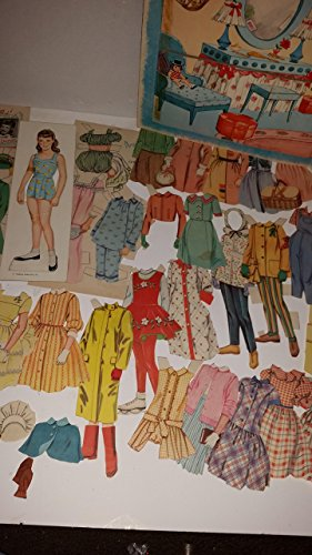 1958 JANET LENNON cut-out doll - authorized edition Paper Dolls