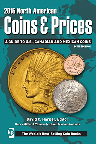North American Coins & Prices 2015: A Guide to U.S., Canadian and Mexican Coins