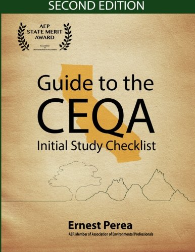 Guide To The CEQA Initial Study Checklist 2nd Edition