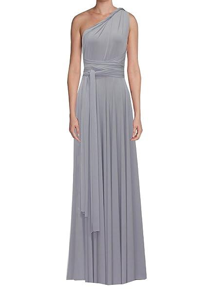 7f9ba311d98d E K Infinity Dress Long Bridesmaid Gown Convertible Wedding Multiway Skirt  Plus Size wrap clothing-4X