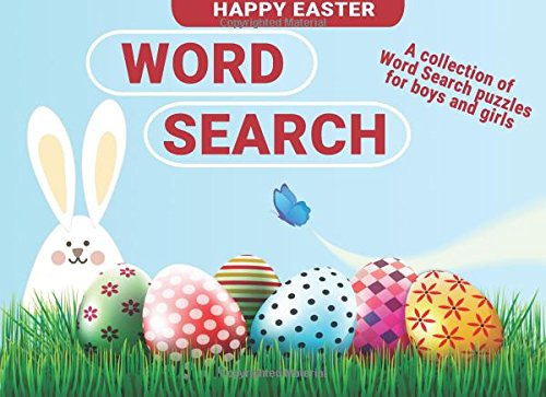 Easter Basket Stuffers for Kids: Word Search Easter Gifts for Boys and Girls cover