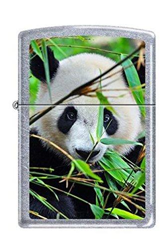 Zippo 0234 Giant Panda Street Chrome Rare & Discontinued Lig