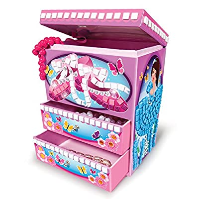 The Orb Factory Sticky Mosaics Ballerina Dream Box: Toys & Games