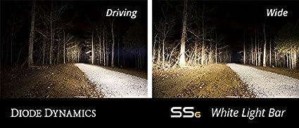 Diode Dynamics Stage Series SS6 White Flood LED Light Bar
