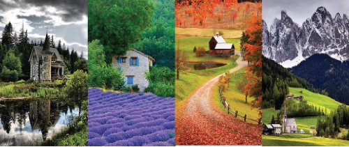 Imagine Crafts 1.125 by 1.875-Inch Photo Elements, Tags, Countryside