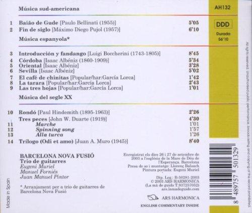 Barcelona Nova Fusio: Barcelona Nova Fusio-Trilogo: Amazon.es: Música