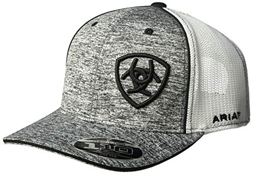 ARIAT Men's Gray Heather Cap, Black, One Size from ARIAT