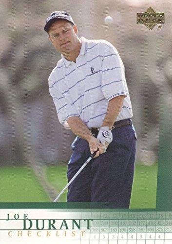 2001 Upper Deck Checklist - 2001 Upper Deck Golf #200 Joe Durant Checklist