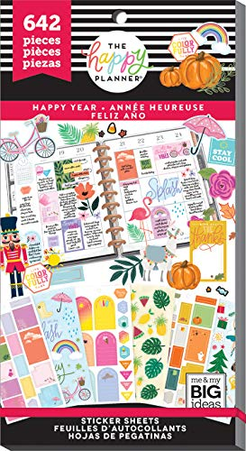 The Happy Planner - Value Pack Stickers - Happy Year ()